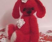 Crochet Pattern for Some Bunny a Thread Artist Teddy Bunny  by Joanne Noel of  Bayou Bears