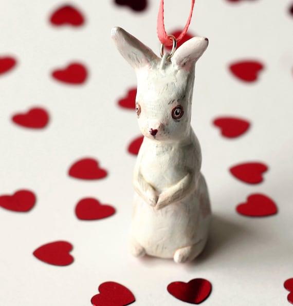 LOVE COLLECTION White Rabbit Pendant
