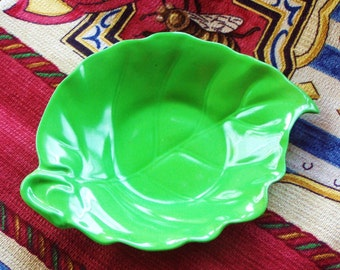 Vintage Prototype Rare Apple Green Crown Devon  Porcelain Dish a1 first off production line mint condition