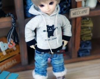 Yo-SD Cute Monster Hooded T-Shirt