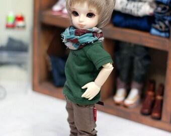 YOSD Slim Cotton Pants-Brown