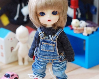 Lati yellow Pukifee Washing Overall Jeans