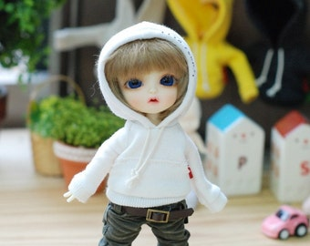 Lati yellow Pukifee Vintage Hooded T -Ivory