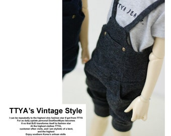 MSD Jumpsuit Dark Gray