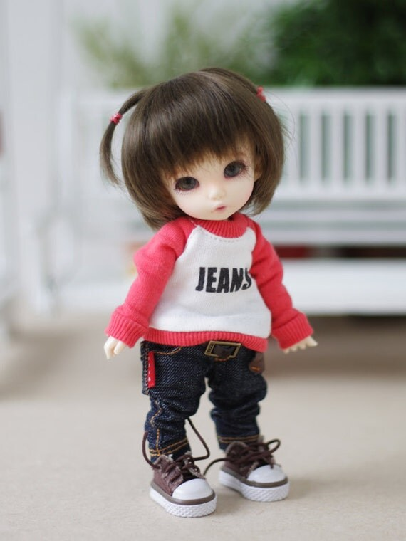 Jean T - Pink red