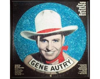 Glittered Gene Autry Album