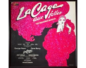 Glittered La Cage Aux Folles Album