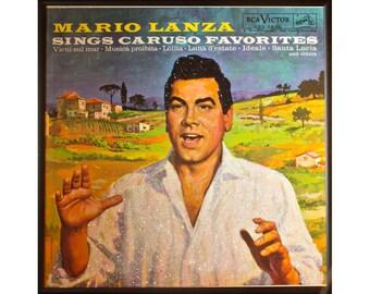 Glittered Mario Lanza Album