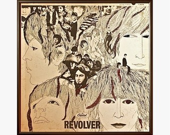 Glittered Beatles Revolver Album