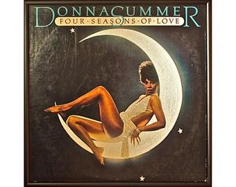 Glittered Donna Summer Four Seasons of Love Album