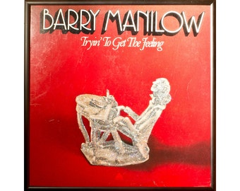 Glittered Barry Manilow Tryin' to Get the Feeling Album