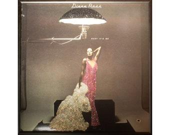 Glittered Diana Ross Baby It's Me Album