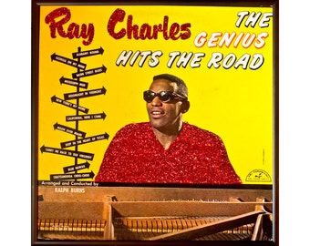 Glittered Ray Charles Hit the Road Album