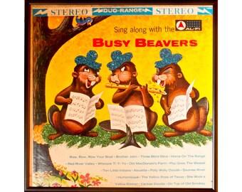 Glittered Busy Beavers Album