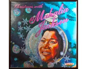 Glittered Mahalia Jackson Christmas Album