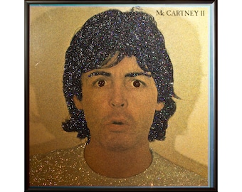Glittered Paul McCartney McCartney II