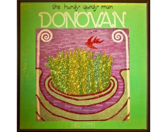 Glittered Donovan Hurdy Gurdy Man Album