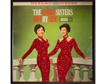 Glittered Barry Sisters Album