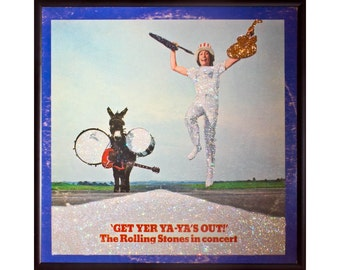 Glittered Rolling Stones Get Your Ya Ya's Out Album