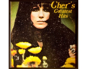 Glittered Cher Greatest Hits Album