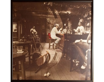 Glittered Led Zeppelin In Through the Out Door Album