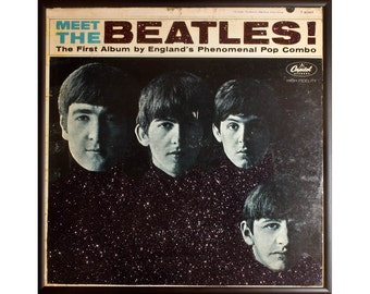 Glittered Beatles Meet the Beatles Album