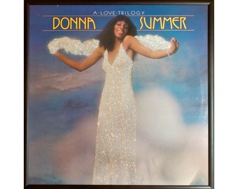 Glittered Donna Summer A Love Trilogy Album