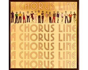 Glittered Chorus Line Album