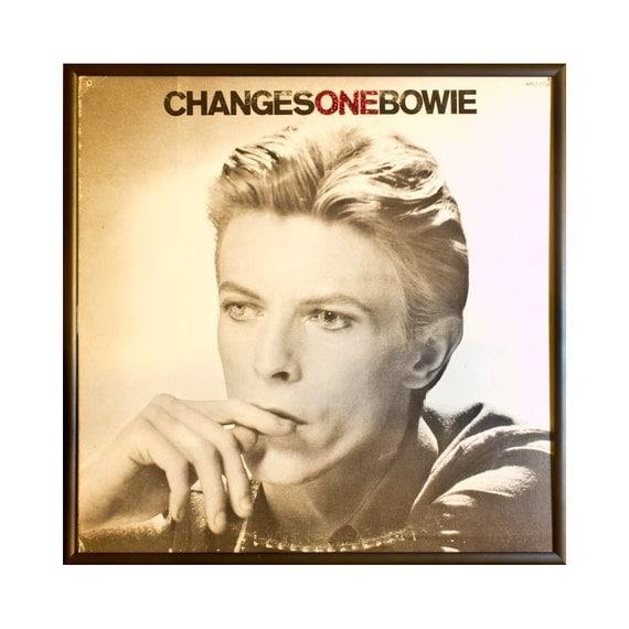 Glittered David Bowie Changes One Album