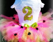 Fabulous Birthday Tutu and Onesie Set made to match your theme