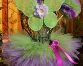Garden Fairy Triple Layer Pixie Tutu Costume for Halloween and Birthdays