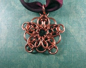 Celtic Visions Star Chainmaille Ornament