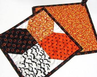 Trick or Treat HotPads/ PotHolders by Deb Strain for Moda