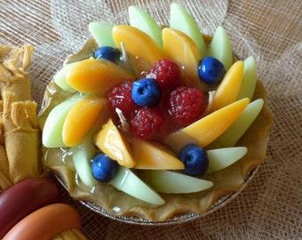Summer Fruit Pie Gel Candle