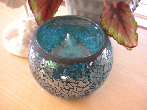 Fresh and Clean Mosaic Candle