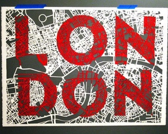 London, The Paper-Cut