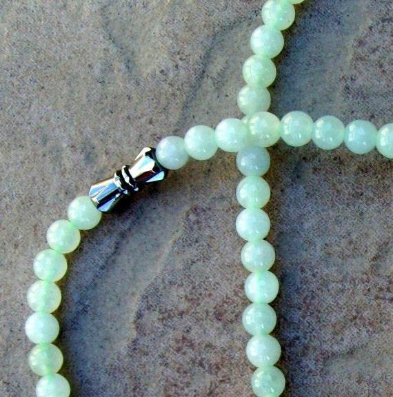 Jade Necklace- Green beauty
