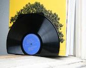 Vinyl Record Bookends - Blue Labels
