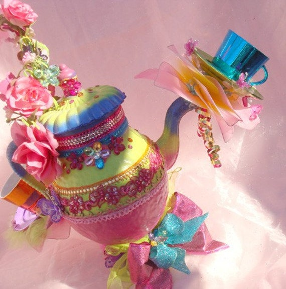 Tea Party Centerpieces: Items Similar To Giant 2 Ft Alice Mad Hatter Tea Party Tea