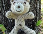 Cute Little Stuffed Handmade Bear - Great companion for adventures