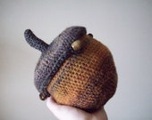 Reserved for Laura Rempel - Squirrel It Away Acorn Pouch w/ Shoulder Strap