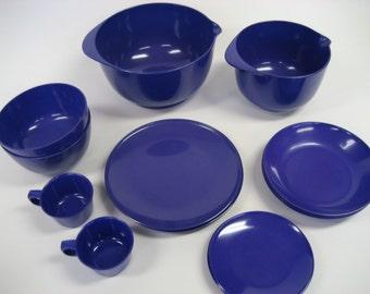 Danish ROSTI dinnerware, serving bowls