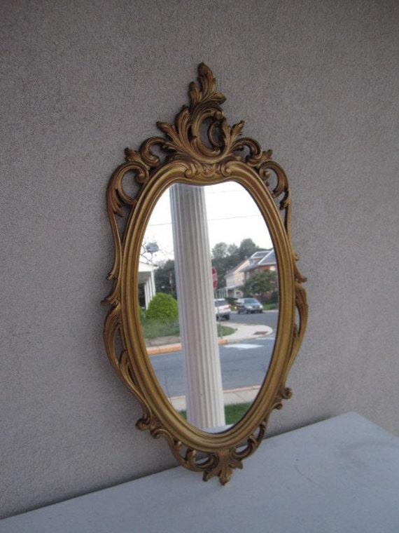 Vintage Mid Century Hollywood Regency Mirror