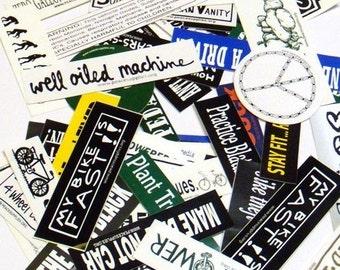 50 bike stickers grab bag
