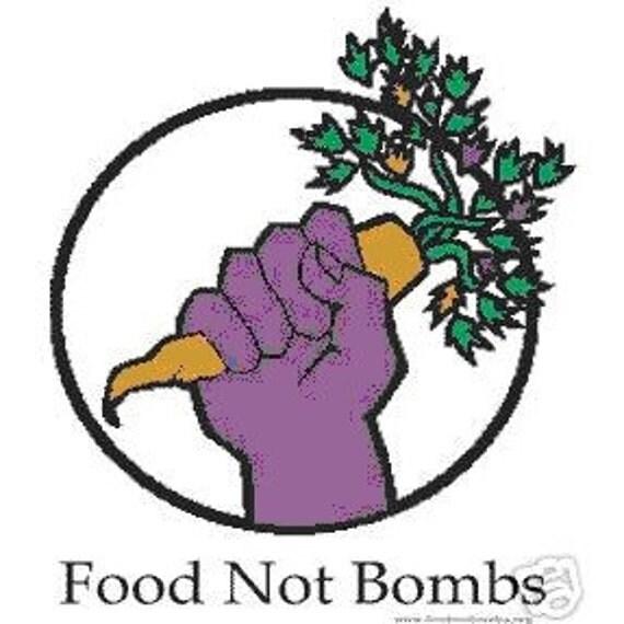 Food Not Bombs T shirt