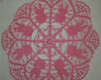 Ring around the Bunny Easter Doily