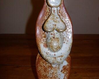 Stoneware Shino Sacred Earth Mother