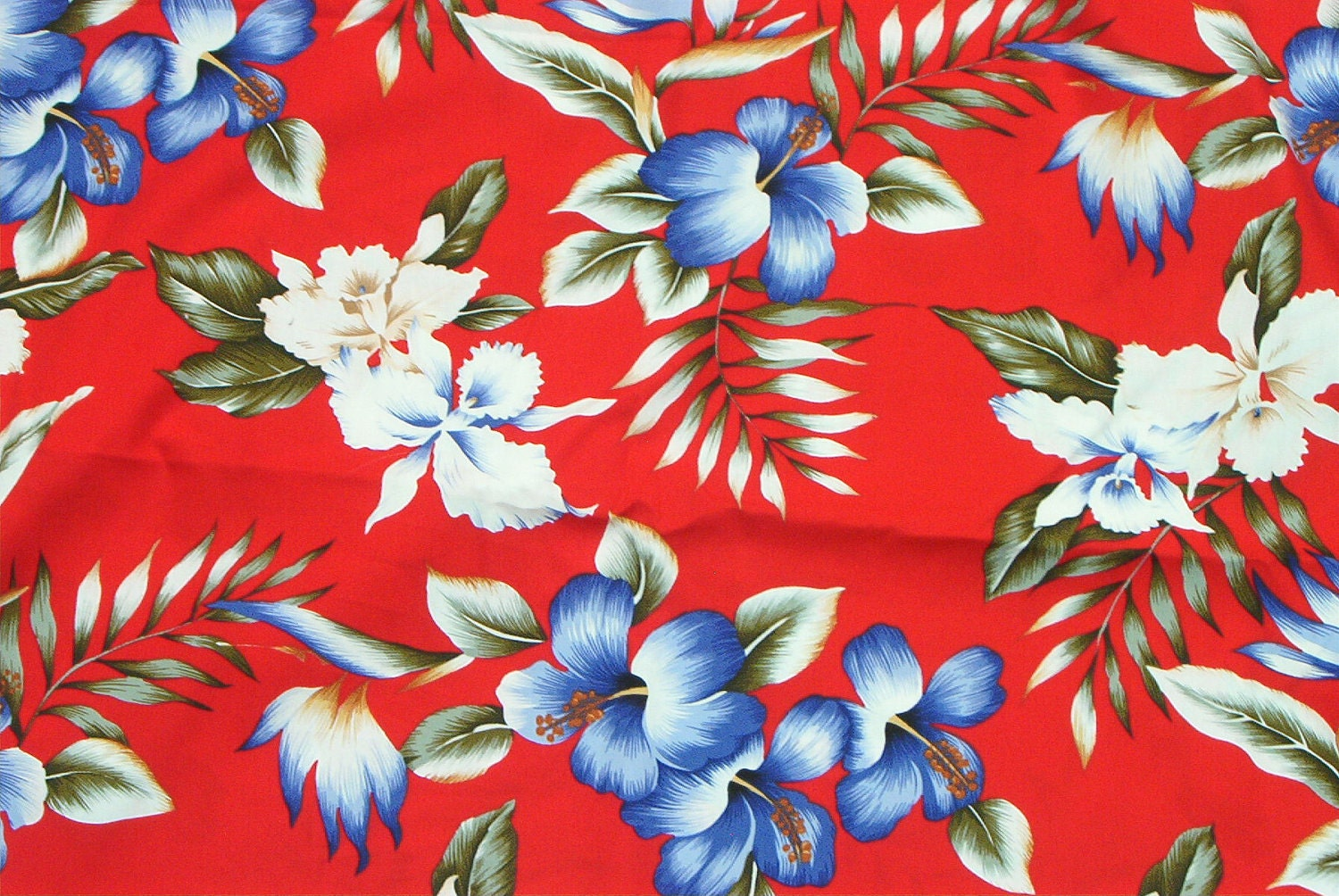 Marianne Of Maui Hawaiian Quilting Fabric Purple Floral