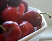 Three 5x7 Life is a Bowl of Cherries Fine Art Photographic Prints