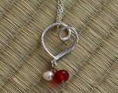 Lovers necklace in Silver